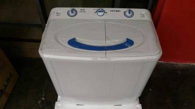 Washer brand hitec semi auto 7kg new