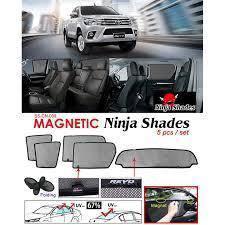 Toyota hilux revo magnetic ninja shades