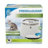 50023-Catit Fresh & Clear Stainless Steel Top Drin