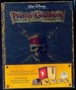 Pirates of the Caribbean Collection Blu-Ray - New