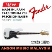 Fender Traditional 70s Precision Bass,Arctic White
