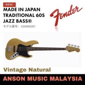 Fender Traditional '60s Jazz Bass, Vintage Natural