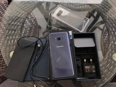 Samsung galaxy s8 fullset like new