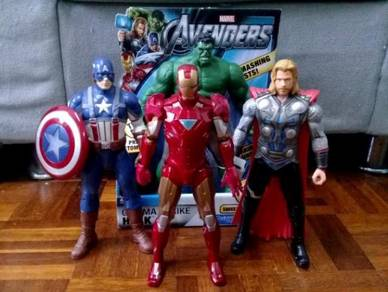 The Avengers Iron Man Hulk Thor Captain America