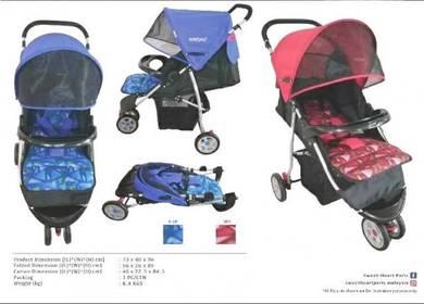 Sweet heart 3 wheel stroller