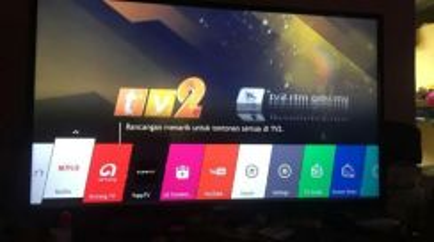 Tv lg~smart tv 43 inch