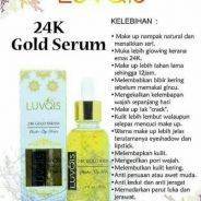 Luvqis 24k gold serum