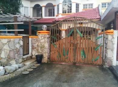 Bandarputra Kulai Double storey FULLY RENO Jalan Nuri
