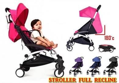 Stroller cuteby (full recline) (o)