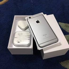 6S 64gb tiptop fullset iphone