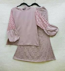 Baju raya/ lace