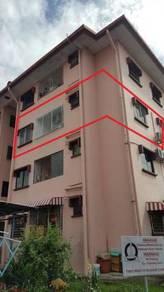 Penampang unit Apartment