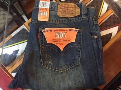 501 jean design koyak size 36 dan 38 sahaja