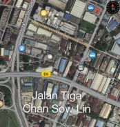 Chan Sow Lin industrial Land - Jalan 3, nearby Jalan Sg Besi Highway