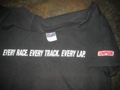 American Simpson Racing team t-shirt