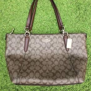 COACH Signature Ava tote zip bag