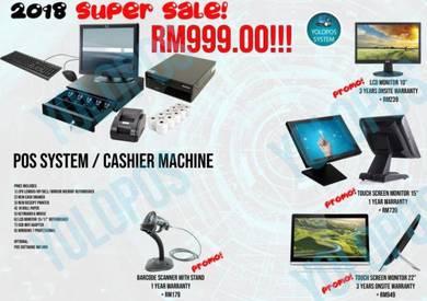 POS System Cashier Machine Promo Selangor