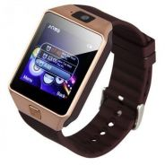 Smart Watch DZ09 ( gold - silver)