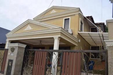 END LOT Double Storey Terrace - Seksyen 5, Wangsa Maju