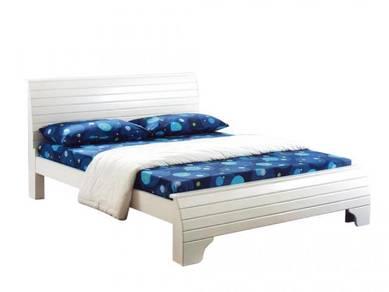 Katil kayu bed bedframe perabot furniture 429