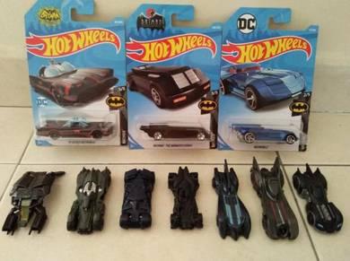 Hotwheel Batmobiles
