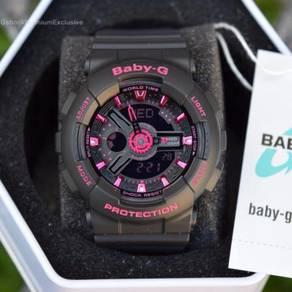 [Gunuine] Exclusive Baby G BA-111-1ADR Baby-G