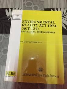 Environmental Quality Act & Engineering Mathematic