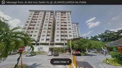 Puchong Intan Apartment, 4th floor, large 3r 2b