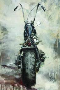 Chopper Harley Davidson poster