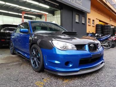 Subaru Impreza V9 Sti front V lip bodykit