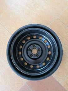 Porsche Cayenne Ori 18 x 6.5j Spare Tyre