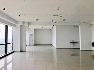BRAND NEW BARE UNIT Office at PINNACLE Near SHERATON, Petaling Jaya