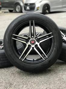 Vossen cv5 15 inch sportsrim city tyre 70%