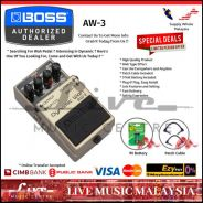 Boss AW-3 Dynamic Wah Guitar Effect Pedal (AW3)