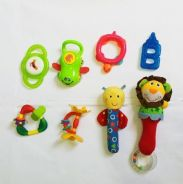 Teether soft toy