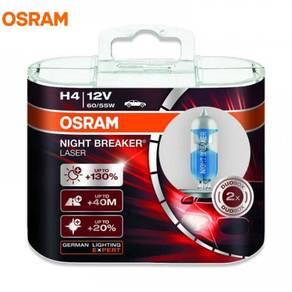 Original Osram h4 night breaker laser bulb