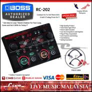 Boss RC-202 Loop Station Effect Pedal (RC202)