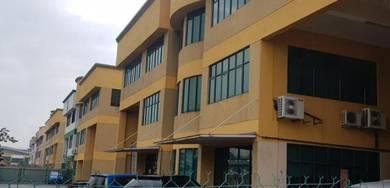 2 Storey Semi D Factory in Taman Meru Indah for RENT