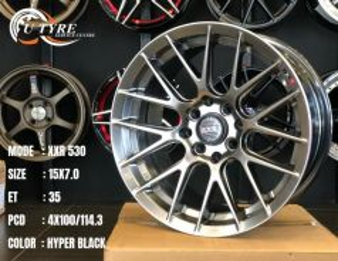 New 15 inch xxr japan design rim