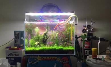 Osun rgb 40cm led aquarium aquascape