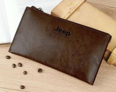Genuine Leather Jeep Clutch Wallet For Men