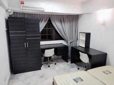 MEDIUM ROOM AIRCOND Makmur Apartment, Sunway Mentari