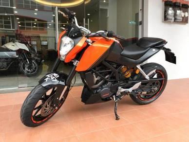 2014 KTM DUKE 200 Buy 1 Free 1 Kedai Loan