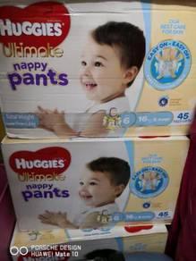 Huggies Pampers New ( import fron Australia ) last