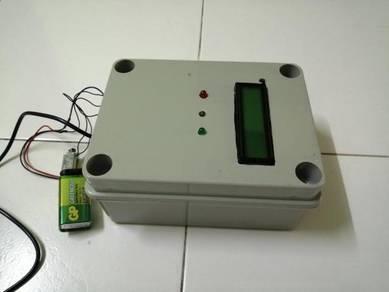RFID interlock door