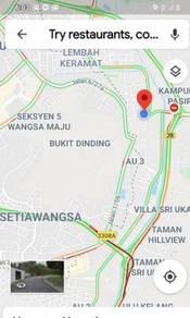 Vacant Residential Land Taman Sri Keramat Kuala Lumpur For Sale