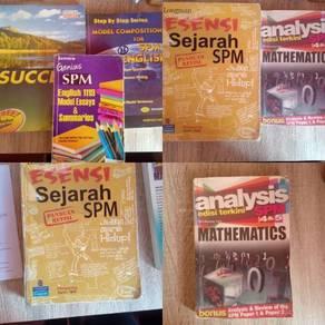Books (english , maths & history)