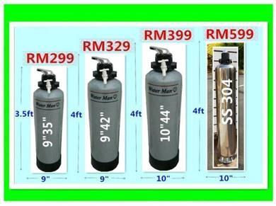 Water Filter / Penapis Air siap pasang 55k