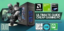 Gaming PC AMD Phenom X4 8GB Nvidia 500GB DOTA Win7