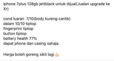 Iphone 7plus 128gb Myset